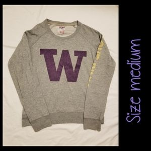 PINK Washington Huskies Sweater Med